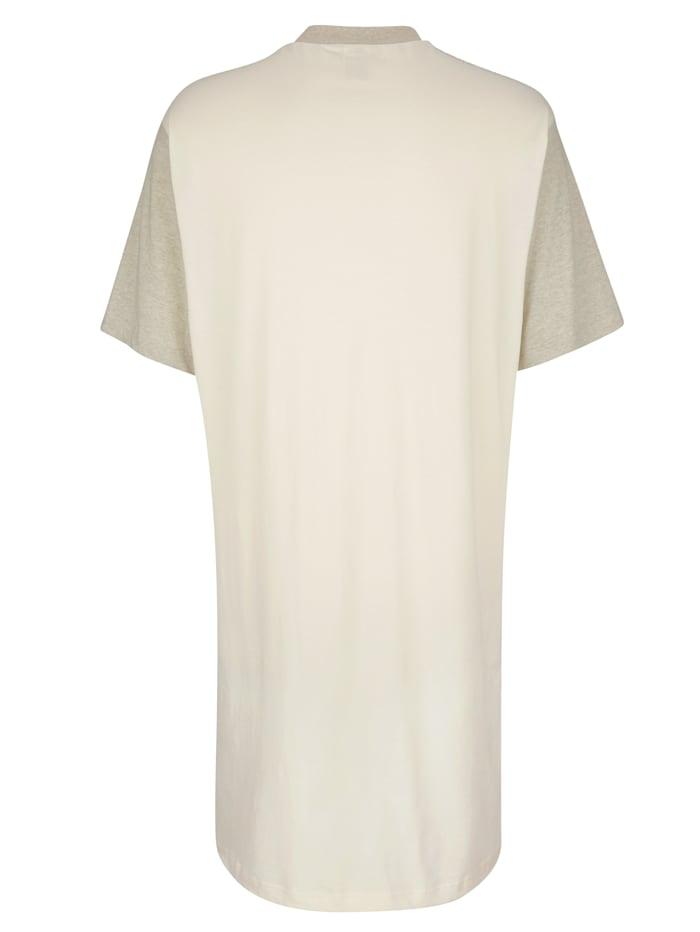 Nachthemd aus naturbelassener Baumwolle