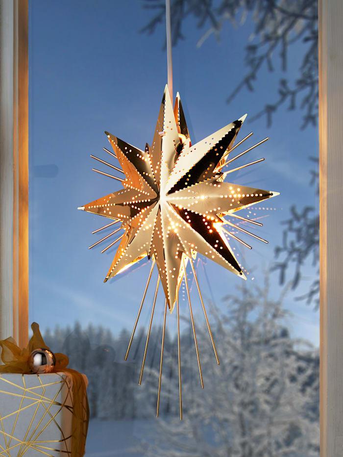 Star Trading Adventsstjärna, guldfärgad