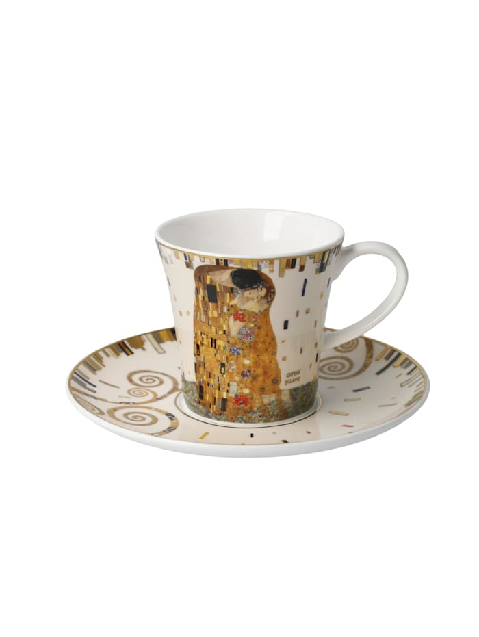 Goebel Goebel Kaffeetasse Gustav Klimt - Der Kuss, Klimt - Kuss