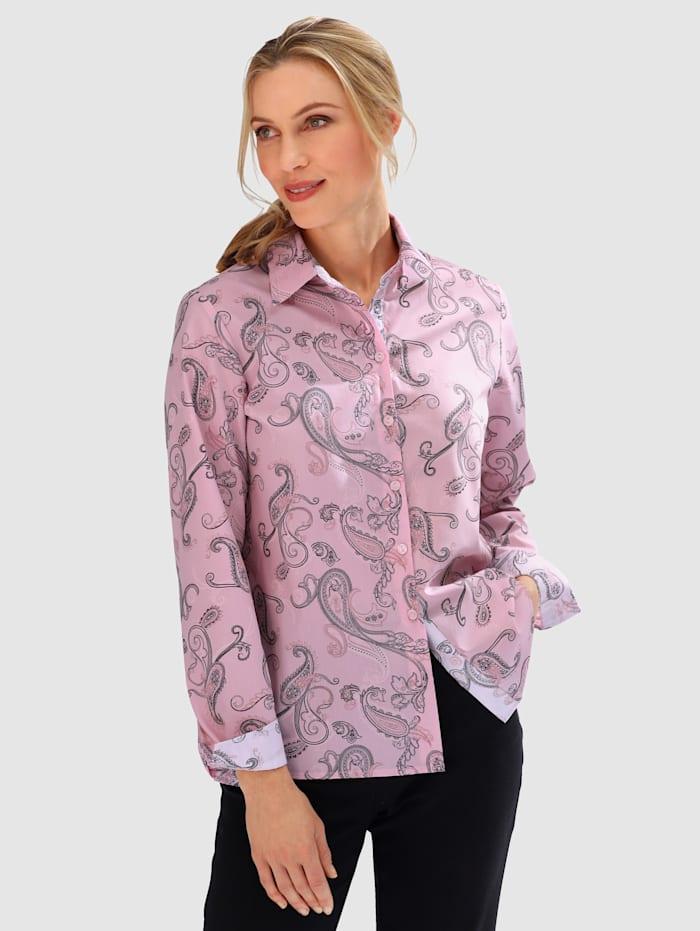 Bluse in Doppelpack mit modischem Paisleymuster