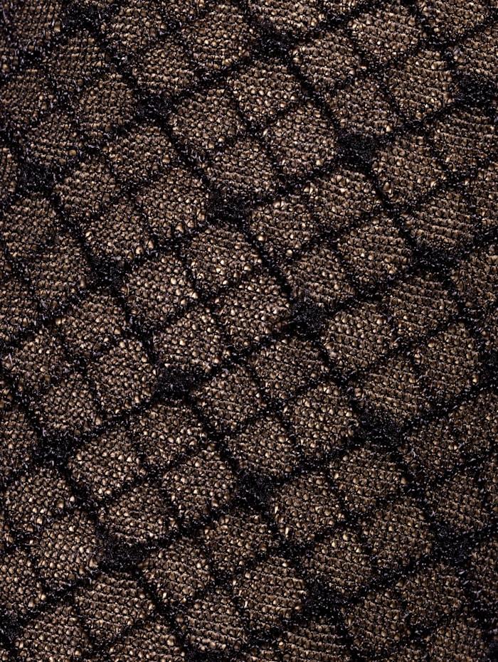 Strumpfhose mit filigranem Rautenmuster und Pünktchen