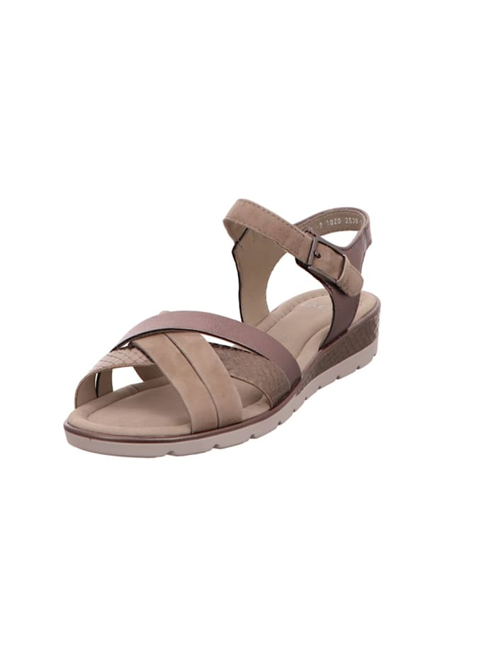 Ara Sandalen/Sandaletten, beige