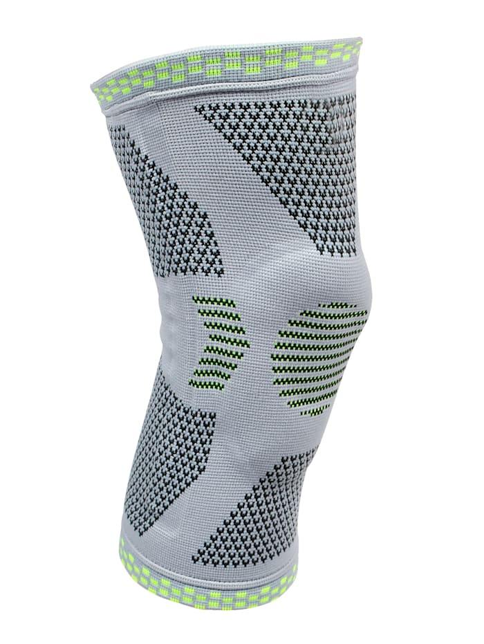 Vital Comfort Bandage de maintien pour genou Patella Tec, Bleu