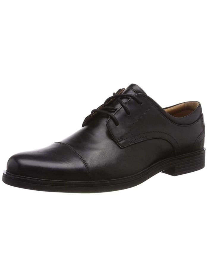 Clarks Schnürschuhe, schwarz