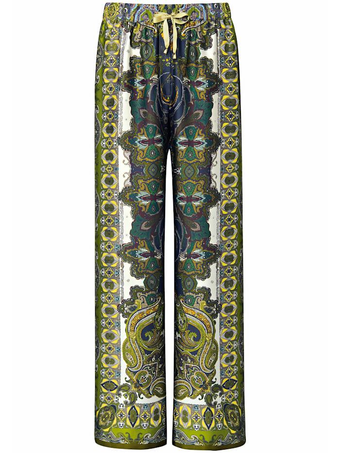 Emilia Lay Schlupfhose Hose, grün/multicolor