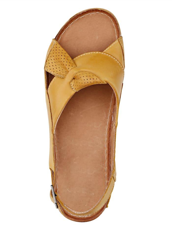 Sandale mit raffinierter Schlaufe