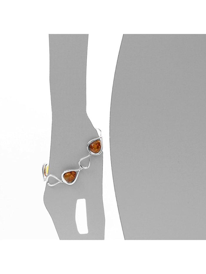 Armband - Nicoletta - Silber 925/000 - Bernstein