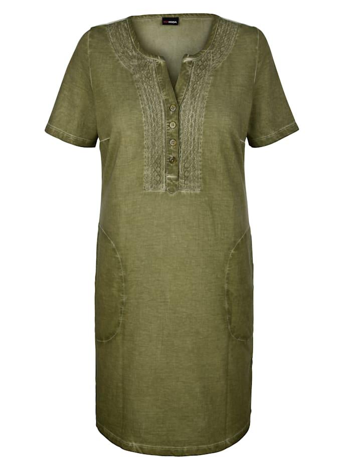 Šaty v Oil washed vzhľade