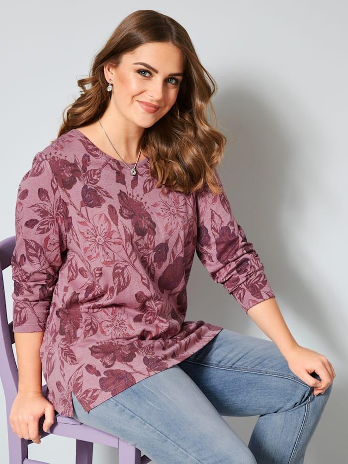 Sweatshirt mit floralem Druck