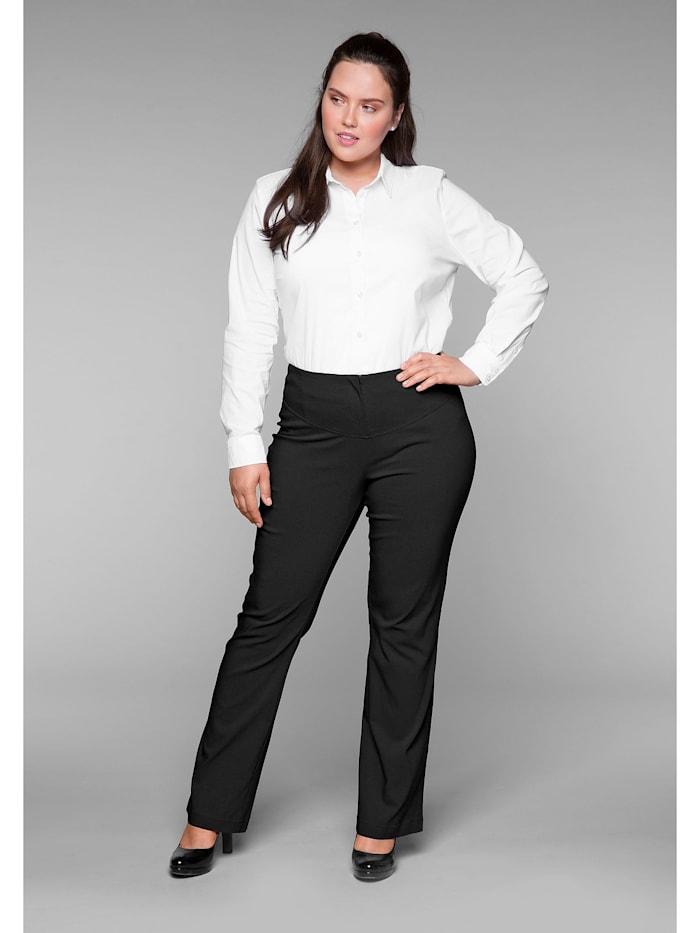 Sheego Bodyforming-Hose mit Bodyforming-Effekt, schwarz
