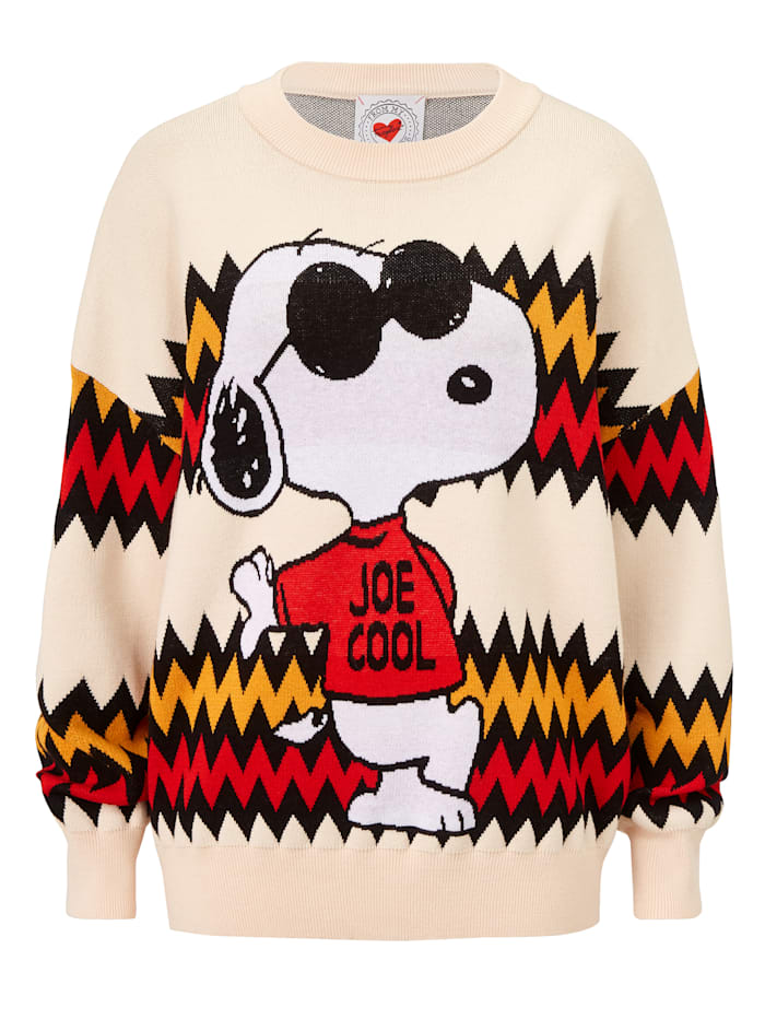 FROGBOX Pullover, Creme-Weiß