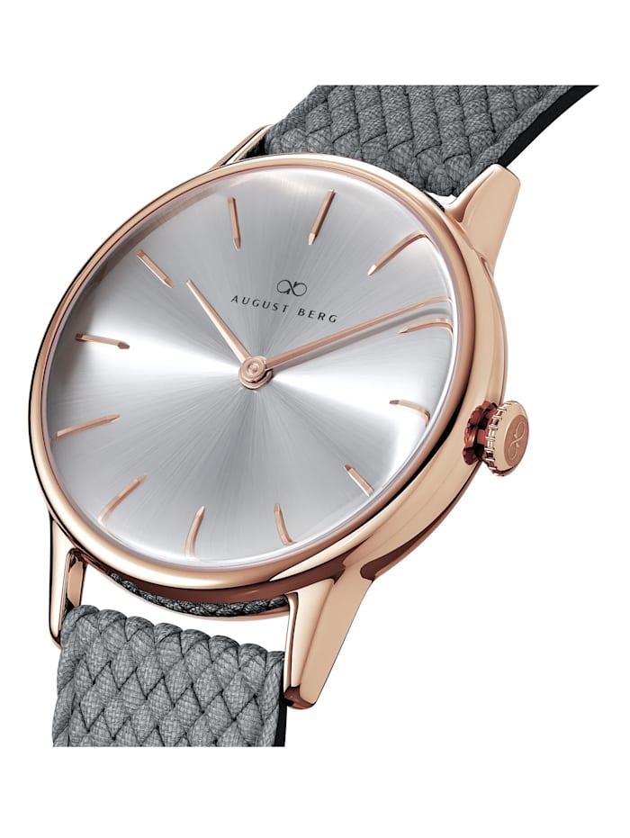 Uhr Serenity Simply Warm Grey Perlon 32mm
