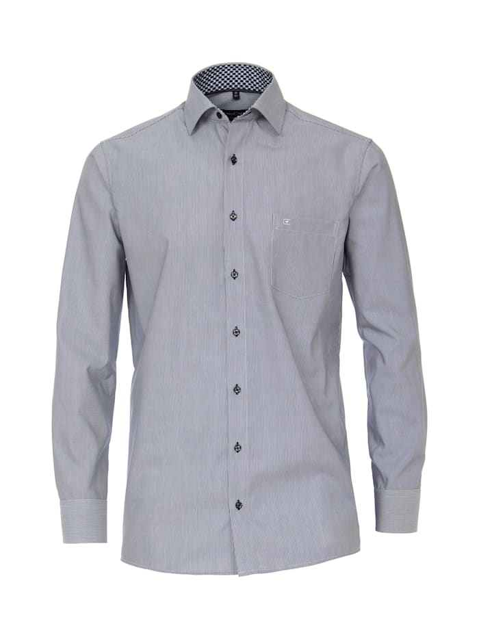 CASAMODA Hemd gestreift Comfort Fit, Dunkelblau