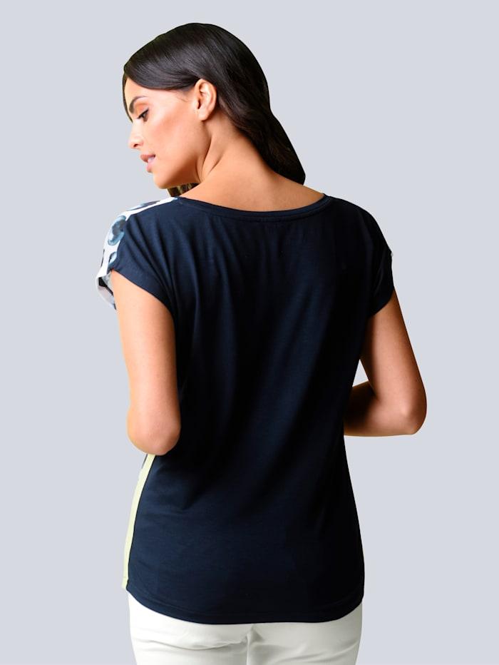 Shirt mit abstraktem Punktedessin