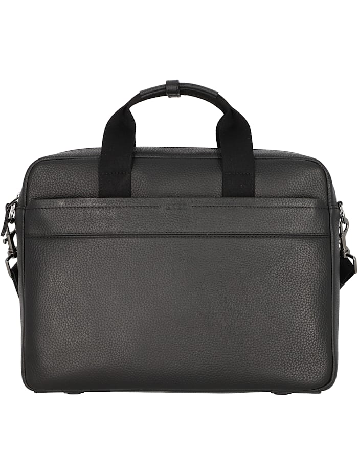 Bree Aiko 3 Aktentasche Leder 37 cm Laptopfach, black