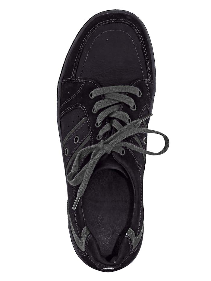 Šnurovacia obuv v skvelej farebnej kombinácii