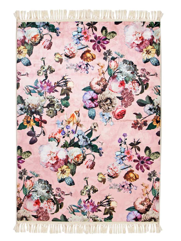 Essenza Vloerkleed Fleur, Roze