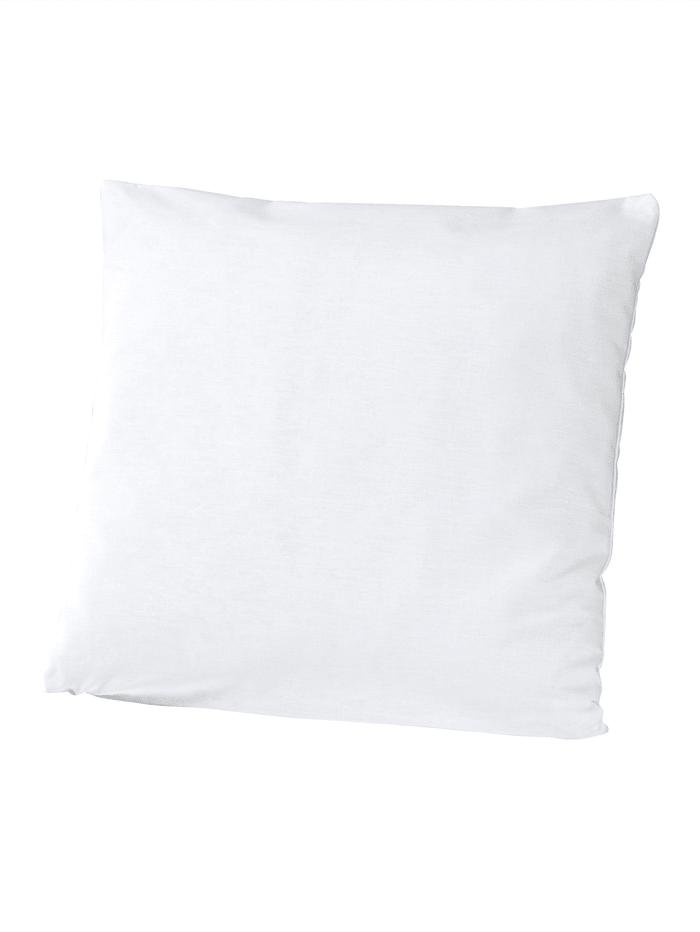 Webschatz Set van 2 kussenhoezen, wit