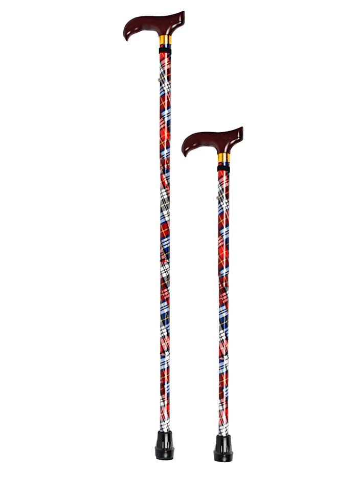 GHZ Opvouwbare wandelstok, Rood