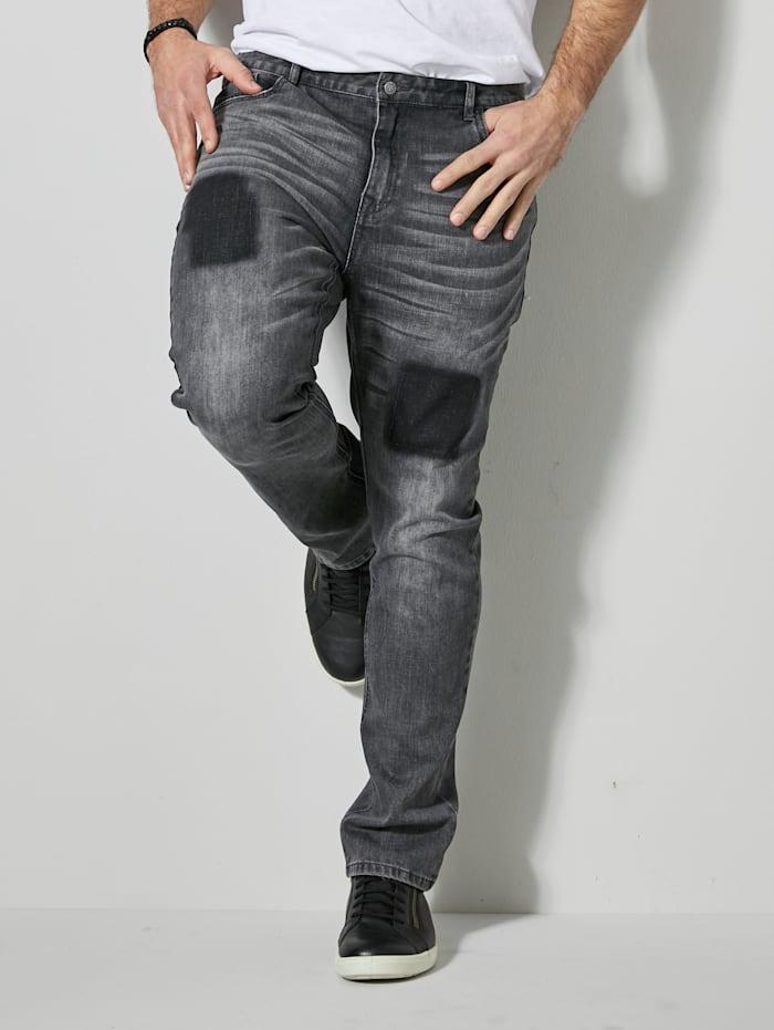 Men Plus Jeans Slim Fit, Grey