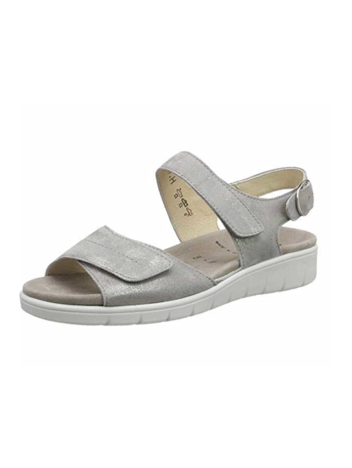 Semler Damen Sandale in silber, silber