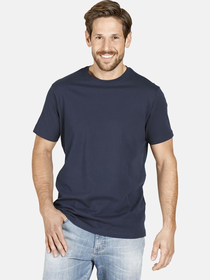 Jan Vanderstorm Jan Vanderstorm Doppelpack T-Shirt ERKE, dunkelblau