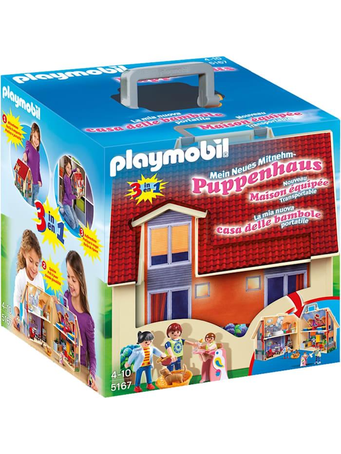 Konstruktionsspielzeug Neues Mitnehm-Puppenhaus
