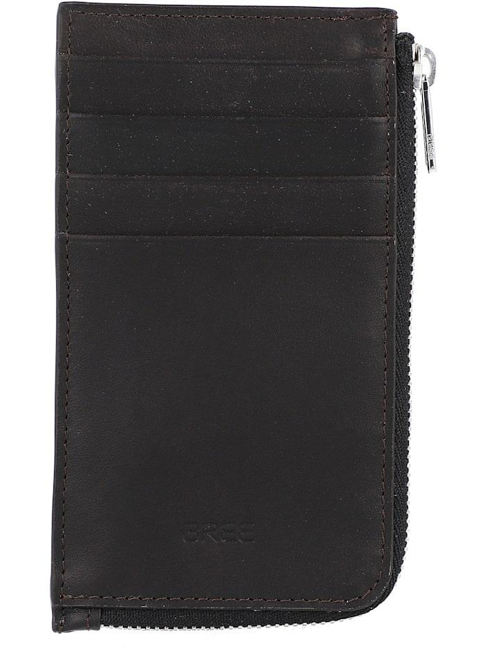 Bree Oxford SLG New 140 Kreditkartenetui Leder 8 cm, darkbrown