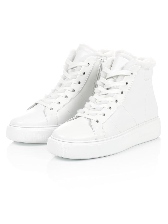 Kennel & Schmenger Hightop-Sneaker, Off-white