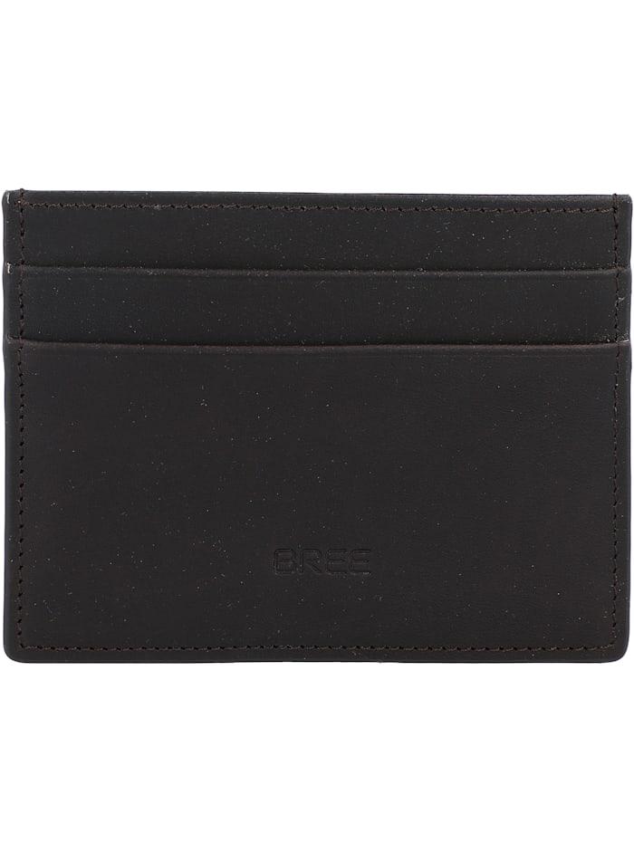 Bree Oxford SLG New 139 Kreditkartenetui Leder 10 cm, darkbrown