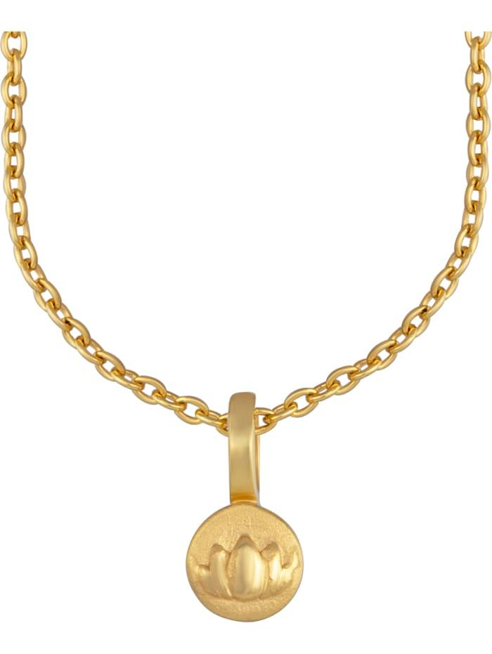 CAI Caï Damen-Kette 925er Silber, gold