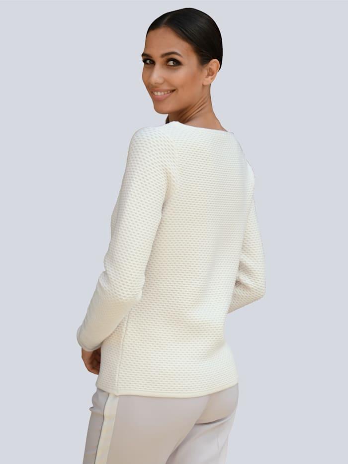 Pullover dezent mit Glanzgarn
