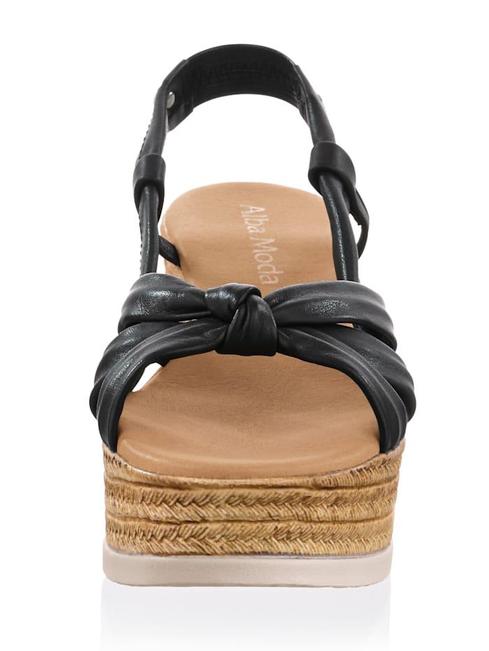 Sandalette mit attraktivem Riemen