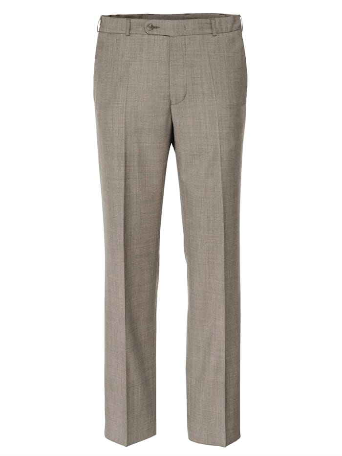 BABISTA Pantalon en laine avec 7 cm d'ampleur supplémentaire à la taille, Beige