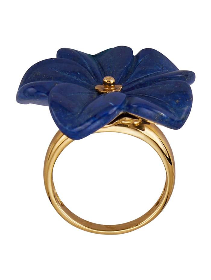 Bague avec lapis-lazuli