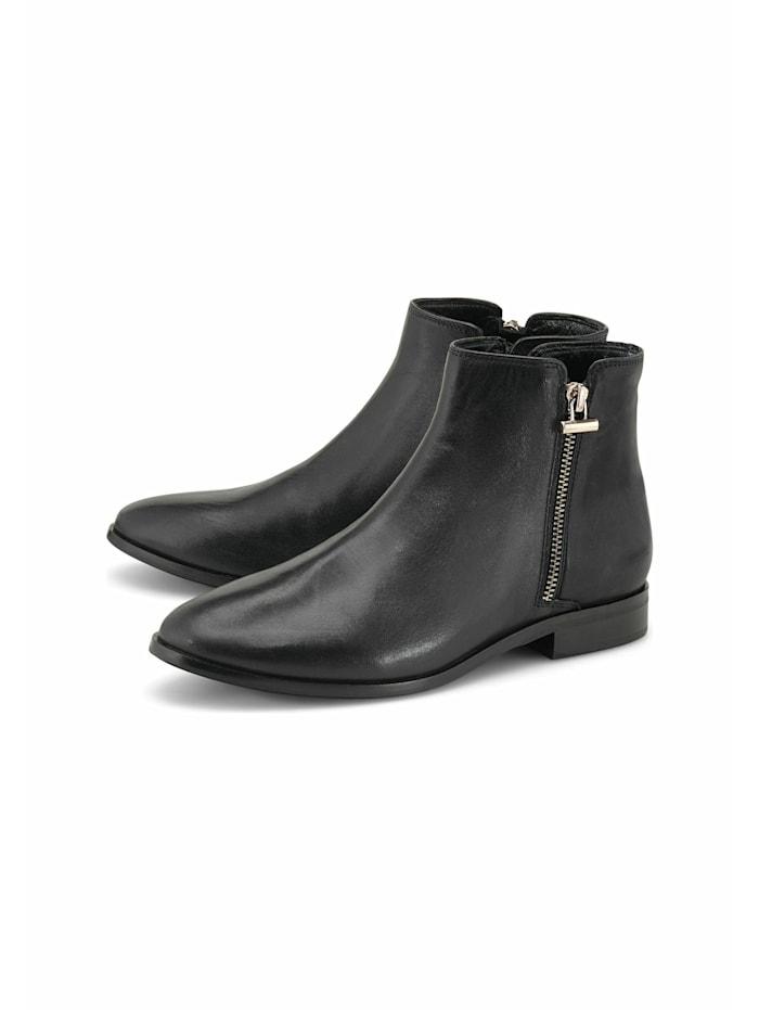 COX Ankle-Boots Zipper-Stiefelette, schwarz