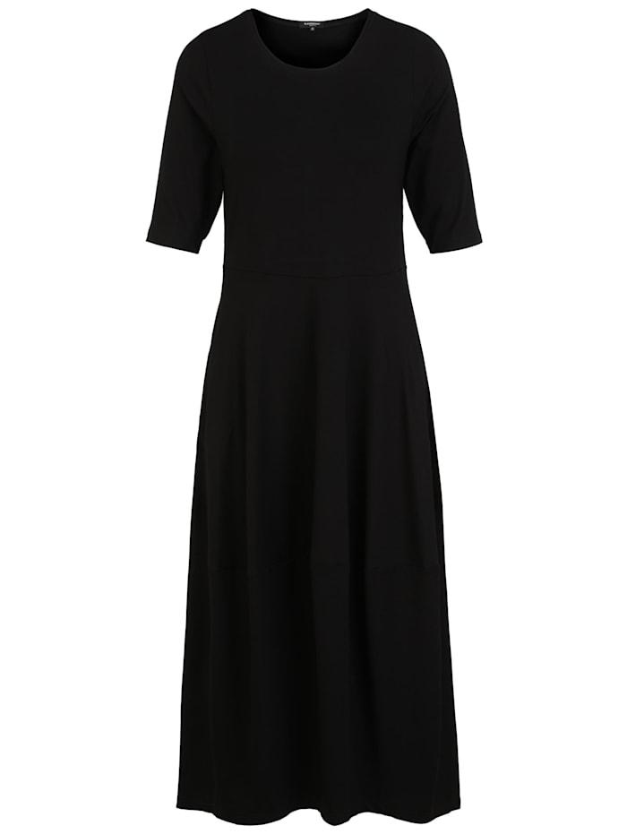 Sammer Berlin Jerseykleid in Tulpenform, schwarz