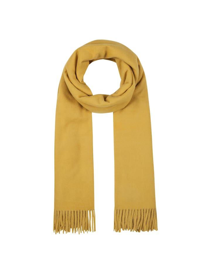 Codello Softer Oversized-Schal mit Viskose, yellow