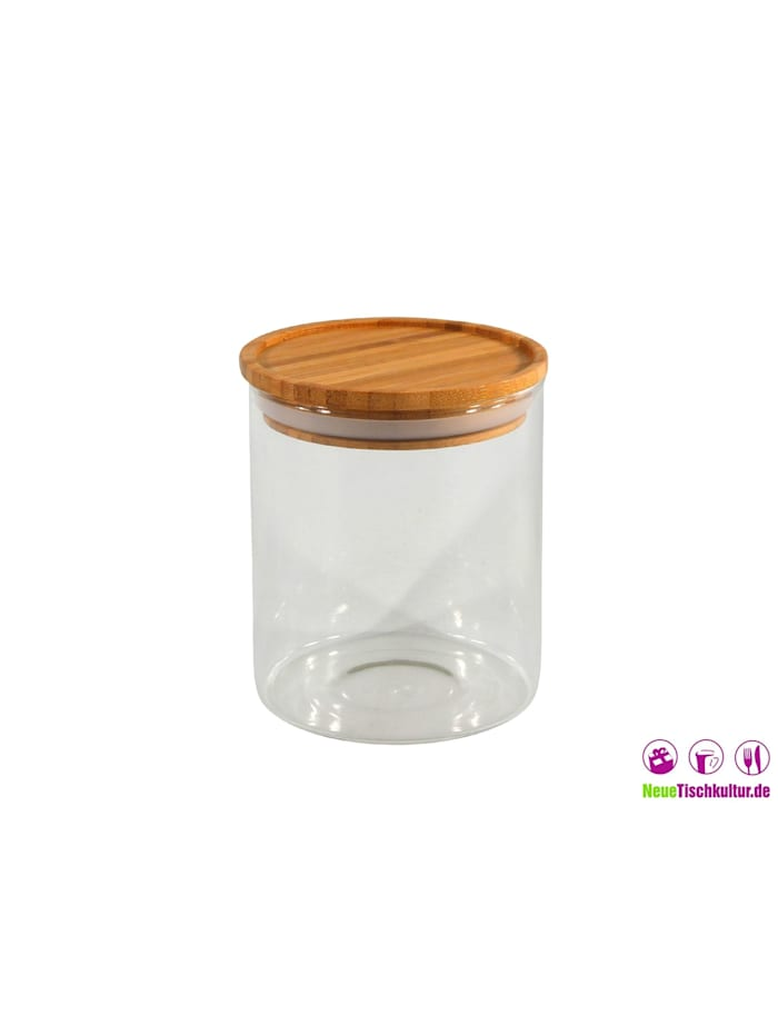 Vorratsglas mit Bambusdeckel