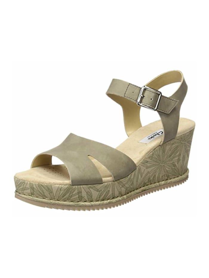 Clarks Sandalen/Sandaletten, taupe