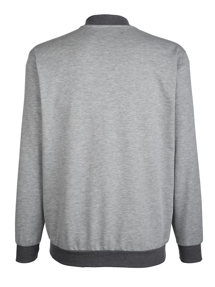 Sweat mikina ve stylu bluzónu