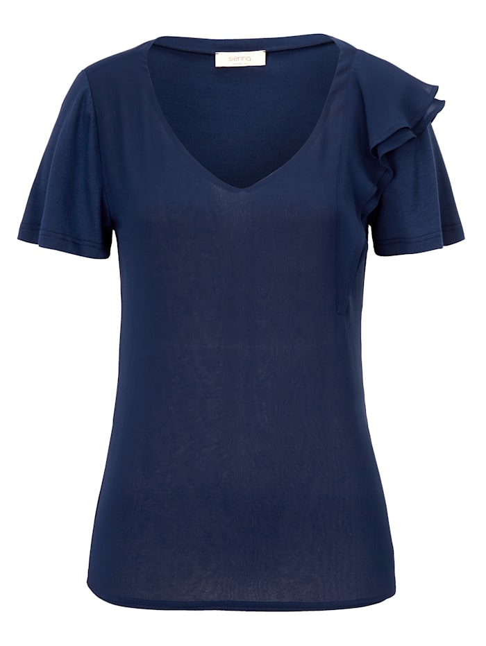 SIENNA Shirt, Dark blue