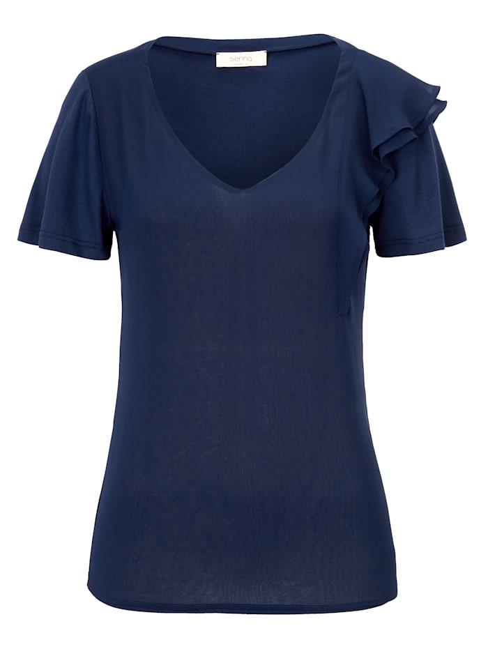 SIENNA Shirt, Dark blue
