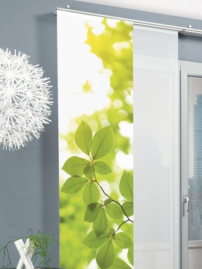 """Home Wohnideen Panneau japonais """"LEAF"""", Vert"""
