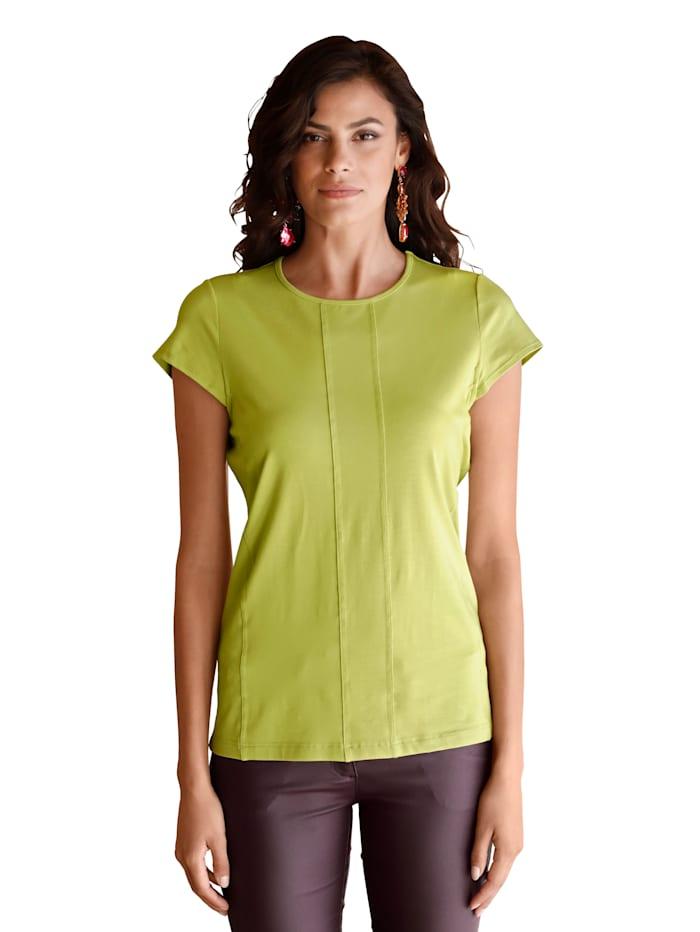 AMY VERMONT Shirt mit Teilungsnähten, Grün