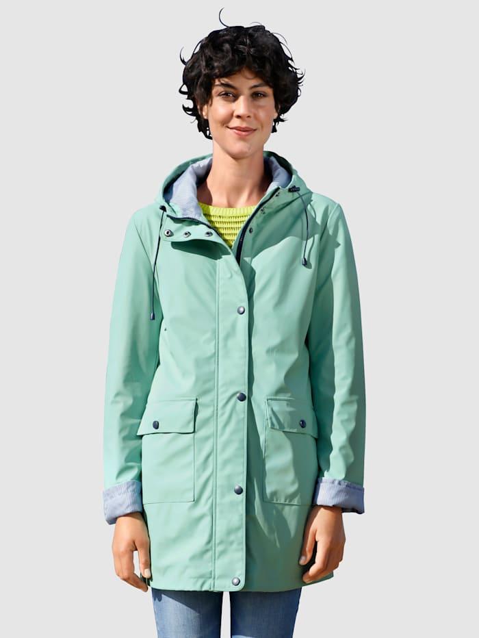 Dress In Hupullinen sadetakki, Lehmuksenvihreä