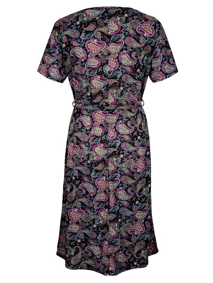 Paisleykuvioitu mekko