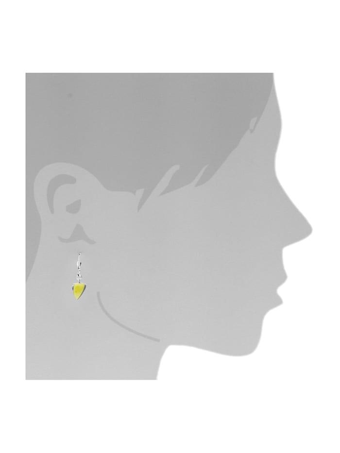 Ohrhänger - Lara - Silber 925/000 - Bernstein