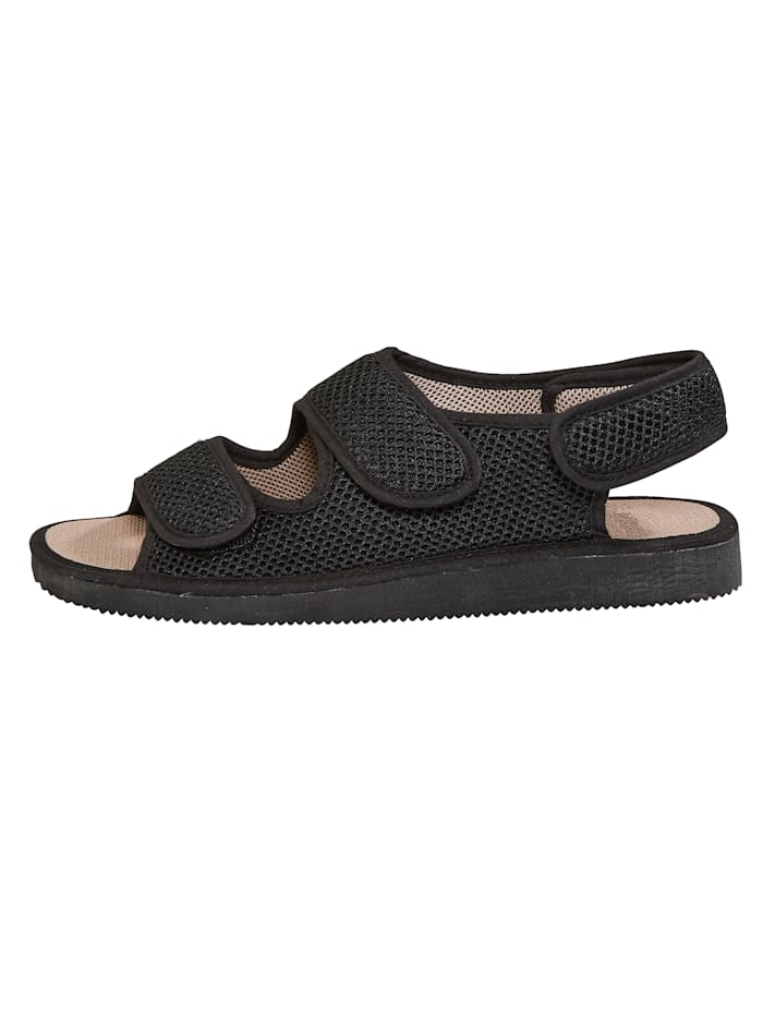 Sandales à auto-agrippant