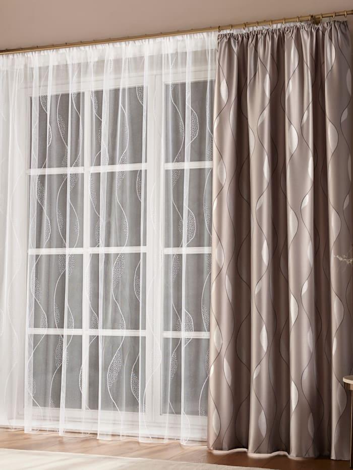Žakárová záclona 'Talara'